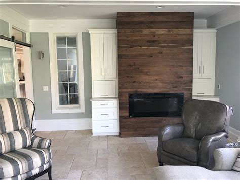 Walnut Feature Wall Material - Fraser Wood Elements
