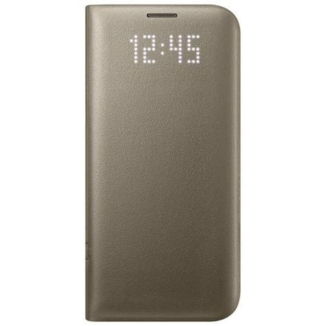 Samsung LED View Cover Gold Galaxy S7 Edge - kopen - Belsimpel