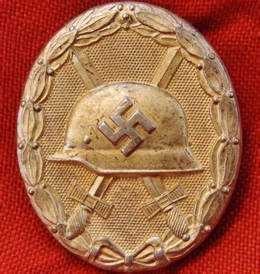 **SOLD** WW2 GERMAN WOUND BADGE IN GOLD – JB Military Antiques