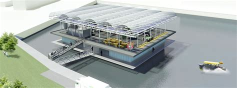 Rotterdam will be the first city with a Floating Farm