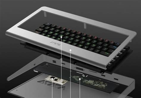 This mechanical keyboard is hiding a quad-core Android PC