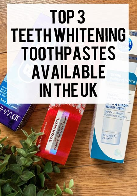 Best whitening toothpastes in the UK   xameliax   Beauty