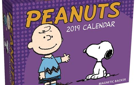 Peanuts 2019 Mini Day-to-Day Calendar – BrownTrout UK