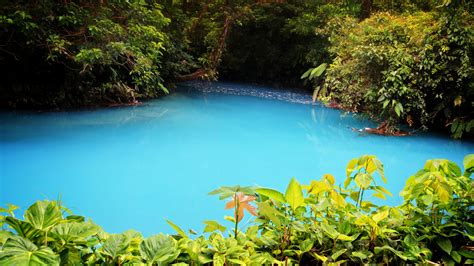 Celeste River With Turquoise Blue Water Is A River In