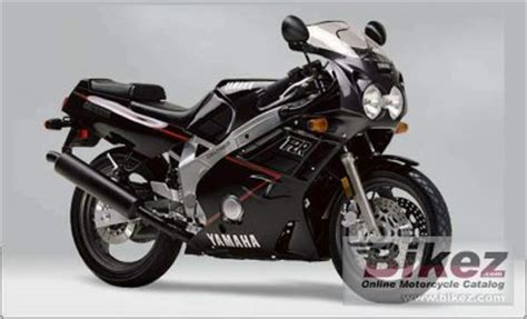 1999 Yamaha FZR 600 specifications and pictures