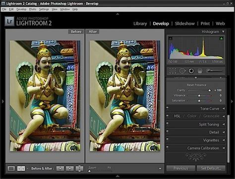 Making sense of Clarity, Vibrance and Saturation in