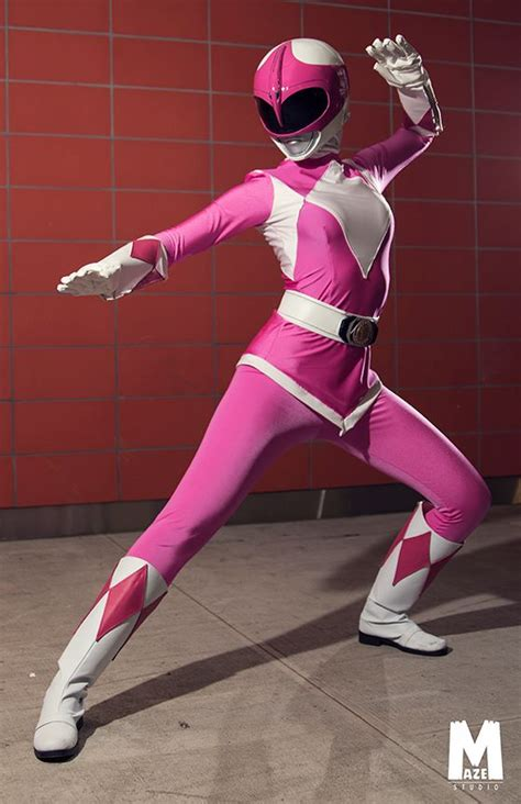 Pink Ranger (Mighty Morphin' Power Rangers) by YuffieBunny