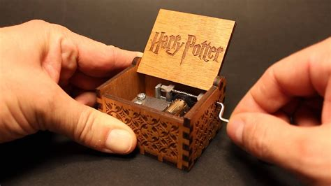 Harry Potter Theme - Music box by Invenio Crafts - YouTube