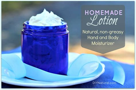Homemade Lotion: A Natural Hand and Body Moisturizer Recipe
