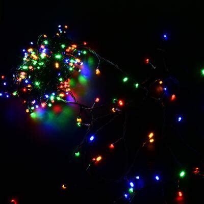 30m 200 LED Outdoor Christmas Fairy Lights Warm White