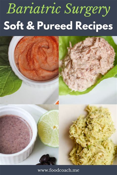 Soft and Pureed Recipes After Bariatric Surgery -   Pureed