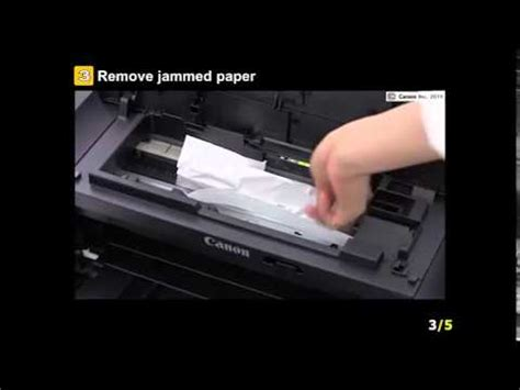 How to remove jammed paper from your CW8 Canon Edible