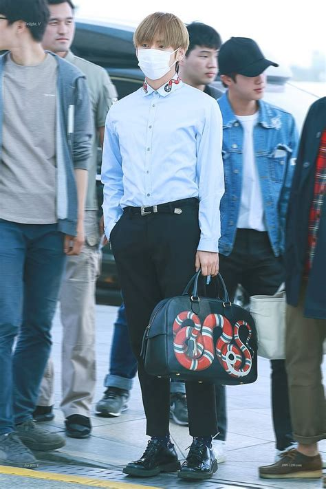 When BTS V Showed Up Wearing This, He Looked Like A Rich