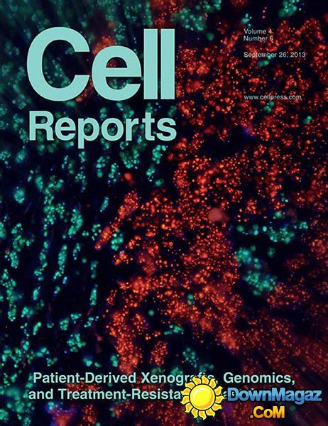 Cell Reports - 26 September 2013 » Download PDF magazines