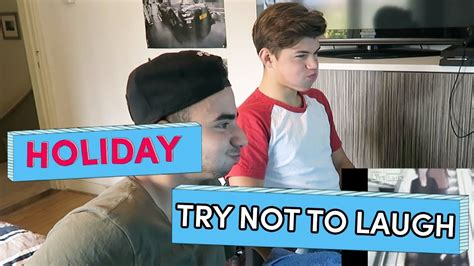 Try Not To Laugh - Holiday | Brugklas Seizoen 6 - YouTube