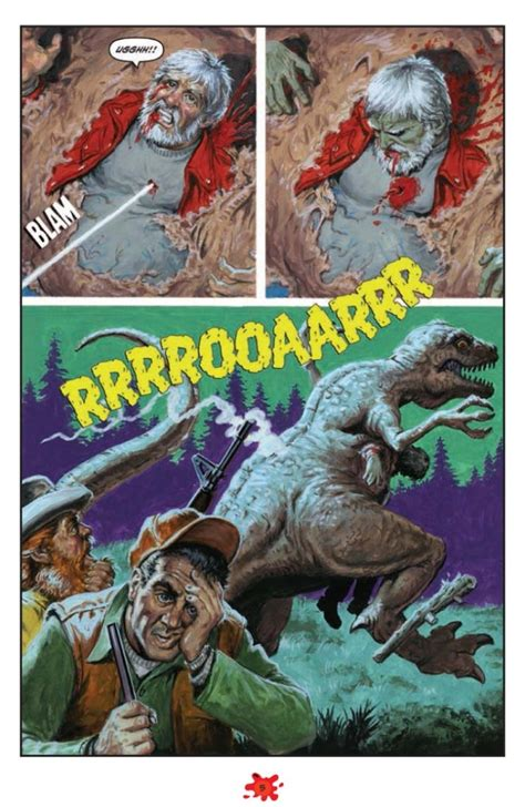 Dinosaurs Attack #3 preview - Horror News Network
