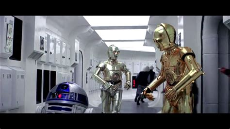 Rogue One Ending with C3PO and R2D2 - YouTube