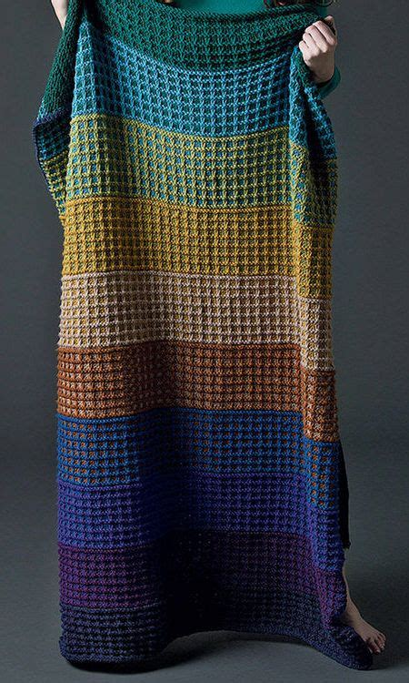 Easy Afghan Knitting Patterns | Knitted afghans, Knitted