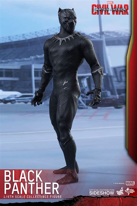 Marvel Black Panther Sixth Scale Figure by Hot Toys