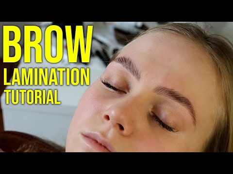 Brow Lamination (Training only) - Book Your Course