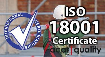 ISO 18001 OHSAS - Quality Management System