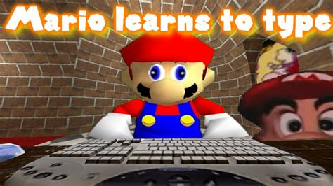 SM64: Mario learns to type - YouTube